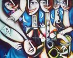 Obras de arte: America : Cuba : Ciudad_de_La_Habana : miramar_playa : Entierro del ángel bueno.
