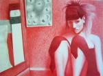 Obras de arte: America : México : Puebla : puebla_ciudad : Cuarto rojo (un sueño gris)