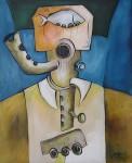 Obras de arte: America : Cuba : Ciudad_de_La_Habana : miramar_playa : Música II.