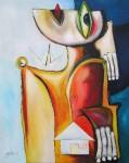 Obras de arte: America : Cuba : Ciudad_de_La_Habana : miramar_playa : Vida para una ciudad que grita.