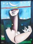 Obras de arte: America : Cuba : Ciudad_de_La_Habana : miramar_playa : El espacio que es el tiempo.