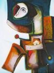 Obras de arte: America : Cuba : Ciudad_de_La_Habana : miramar_playa : El hombre y la urbe toman distancia.