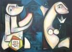 Obras de arte: America : Cuba : Ciudad_de_La_Habana : miramar_playa : Espacio indiferente.