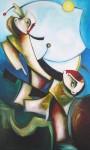Obras de arte: America : Cuba : Ciudad_de_La_Habana : miramar_playa : La duerme vela de la tragedia.