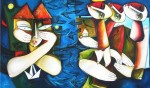 Obras de arte: America : Cuba : Ciudad_de_La_Habana : miramar_playa : Vientos de horizonte para una ciudad que sabe sufrir.