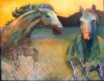 Obras de arte: Europa : España : Comunidad_Valenciana_Alicante : alicante_capital : Caballos salvajes