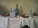 Obras de arte: Europa : España : Madrid : Hoyo_Manzanares : Bodegón con Sidra
