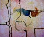 Obras de arte: America : Bolivia : Cochabamba : Cochabamba_ciudad : Huellas ancestrales