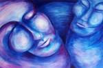 Obras de arte: America : Perú : Lima : miraflores : DANZA AZUL