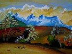 Obras de arte: America : Colombia : Boyaca : duitama : Paisaje 1989