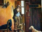 Obras de arte: America : Colombia : Santander_colombia : Bucaramanga : el cazador