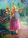 Obras de arte: America : Colombia : Santander_colombia : Bucaramanga : al mercado