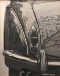 Obras de arte: Europa : España : Murcia : Murcia_ciudad : Reflejos en coche