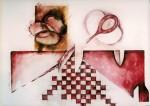 Obras de arte: America : México : Chiapas : Tuxtla : De la serie Mi corte 2