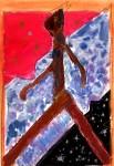 Obras de arte: Europa : España : Madrid : alcala_de_henares : Caminando el pentagrama