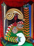 Obras de arte: Europa : España : Cantabria : Santander : la menina del abanico
