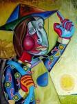 Obras de arte: Europa : España : Cantabria : Santander : mujer china