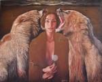 Obras de arte: Europa : Albania : Qarku_i_Fierit : Fier : Los osos visibles y la mujer invisible