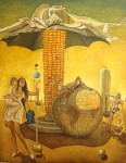 Obras de arte: Europa : Albania : Qarku_i_Fierit : Fier : En el planeta de los maices se habla mucho de la Tierra