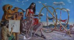 Obras de arte: Europa : Albania : Qarku_i_Fierit : Fier : Y las moscas son importantes en el Arte