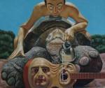 Obras de arte: Europa : Albania : Qarku_i_Fierit : Fier : La quitara melancolica
