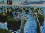 Obras de arte: Europa : Albania : Qarku_i_Fierit : Fier : Las islas pequeñas del gran aburrimiento