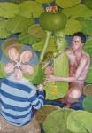Obras de arte: Europa : Albania : Qarku_i_Fierit : Fier : La melodia de rana y un poco de perfume