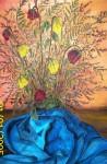 Obras de arte: America : Uruguay : Rio_Negro : Young : ramo con tela azul