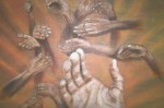 Obras de arte: America : Uruguay : Rio_Negro : Young : Manos