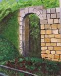 Obras de arte: Asia : Israel : Haifa : NEWE_SHAANAN : ABANDONED WALL