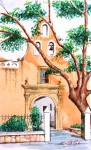 Obras de arte: America : México : Campeche : Campeche_ciudad : Templo de la Candelaria, Mérida.