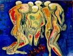 Obras de arte: America : Ecuador : Azuay : Cuenca : LLANTO DE DESPEDIDA