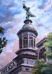 Obras de arte: America : Argentina : Buenos_Aires : Capital_Federal : Símbolo-cúpula La Prensa