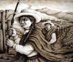 Obras de arte: America : Argentina : Buenos_Aires : Capital_Federal : La bastonera