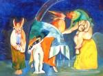 Obras de arte: America : México : Chihuahua : ciudad_juarez : LOS SABIOS SE EXPLICAN