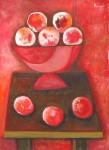 Obras de arte: America : México : Chihuahua : ciudad_juarez : rojo sobre rojo