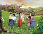 Obras de arte: America : Guatemala : Guatemala-region : Guatemala-ciudad : Ronda de la paz