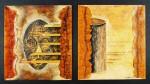 Obras de arte: America : México : Chiapas : Tuxtla : Pespunte del primer autorretrato