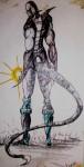 Obras de arte: America : El_Salvador : San_Salvador : San_Salvador_capital : escorpion negro3