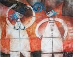Obras de arte: America : México : Mexico_Distrito-Federal : Coyoacan : EL ESPANTASUEGRAS