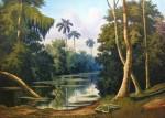 Obras de arte: America : Cuba : Ciudad_de_La_Habana : miramar_playa : paisaje cubano