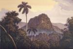 Obras de arte: America : Cuba : Ciudad_de_La_Habana : miramar_playa : atardecer en el escambray