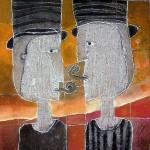 Obras de arte: America : México : Mexico_Distrito-Federal : Coyoacan : MIRA QUIEN HABLA