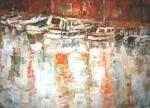 Obras de arte: Europa : España : Catalunya_Tarragona : Banyeres_Penedes : Mirando al puerto