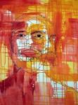 Obras de arte: Europa : Portugal : Lisboa : Parede : AUTORETRATO