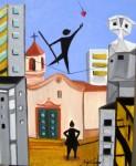 Obras de arte: America : Brasil : Sao_Paulo : Sao_Paulo_ciudad : Tontería de la pasión - ACRÓBATA DE LA PASIÓN