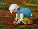 Obras de arte: America : Brasil : Sao_Paulo : Sao_Paulo_ciudad : Niño plantando la vida
