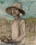 Obras de arte: America : Brasil : Sao_Paulo : Sao_Paulo_ciudad : Campesino Severino y sus maracuyás