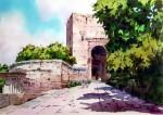 Obras de arte: Europa : España : Andalucía_Almería : Almeria : Puerta de la Justicia - La Alhambra - Granada