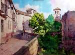 Obras de arte: Europa : España : Andalucía_Almería : Almeria : Carrera del Darro - Granada